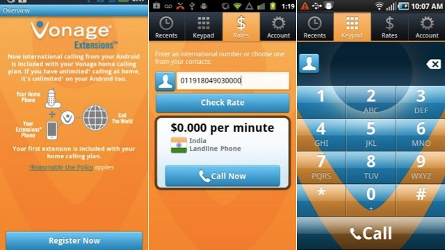 Vonage Extensions Lets You Use Your Android Phone As a Vonage Phone