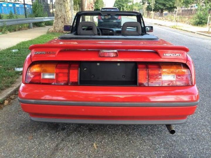 For $1,900, This 1991 Mercury Capri Puts The Top Down On Fun