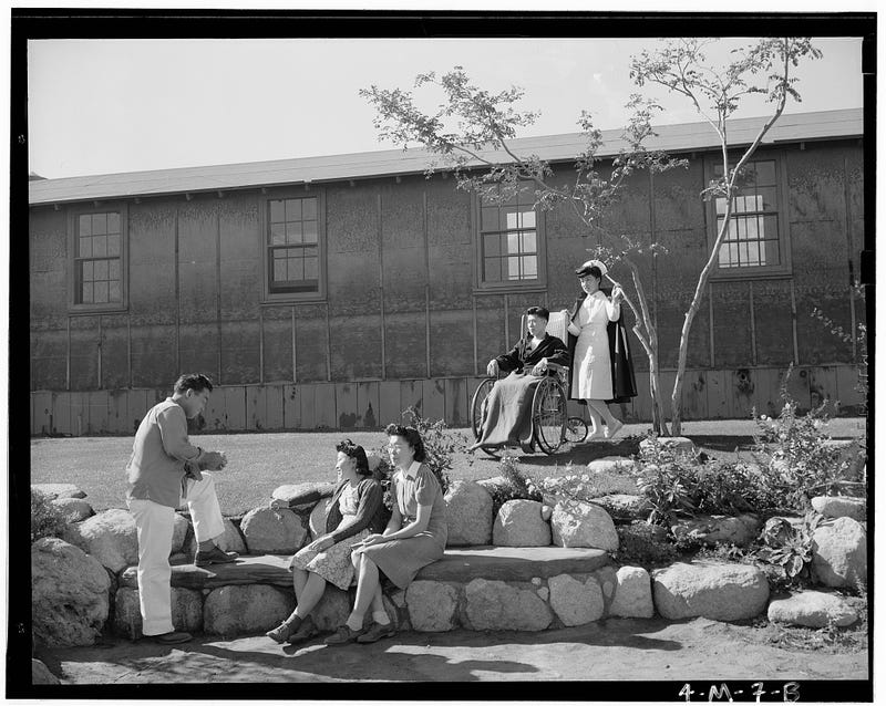 Internment of Japanese-Americans, Seen Through The Lens Of Ansel Adams