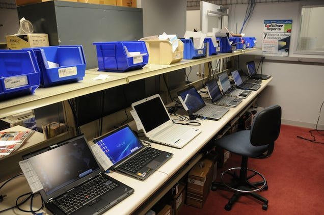Electronics Lab Test : Inside consumer reports electronics testing lab