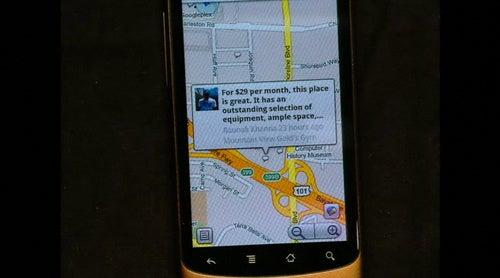 Google Buzz Mobile Gallery