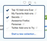 Mozilla Collections Updates with Easier Add-On Organizing and Sharing