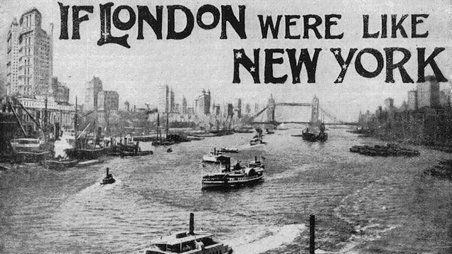 What if America had conquered London?
