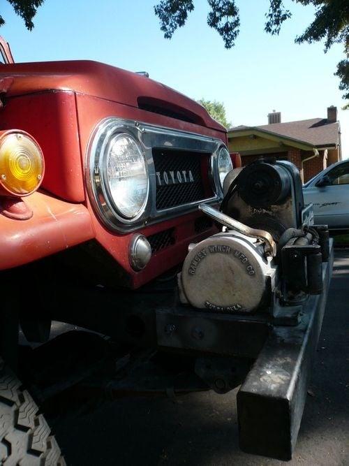 Toyota Land Cruiser Down On The Denver Street
