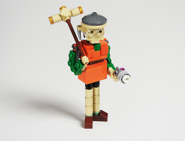 Chrono Trigger Characters In LEGO Form