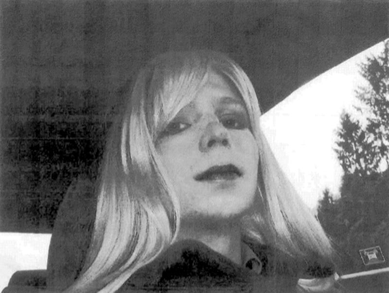 Army Releases Photo of Wikileaker Bradley Manning in Wig and Makeup