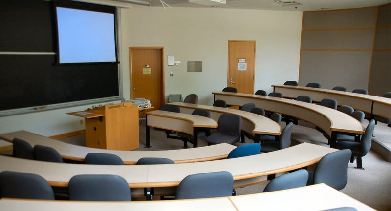 Business School Teacher Accidentally Shows Amputee Porn in Class