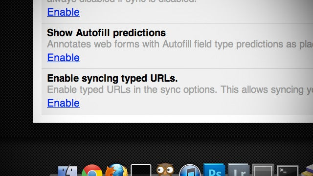 Chrome Canary Now Syncing Hand-Typed URLs