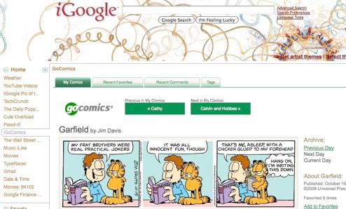 iGoogle Updates, Adds Full-Screen Canvas View