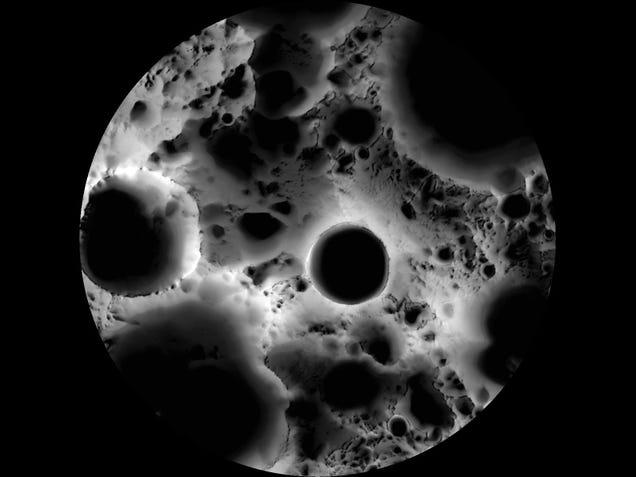"""Diga Olá para o verdadeiro lado """"dark"""" da Lua"""