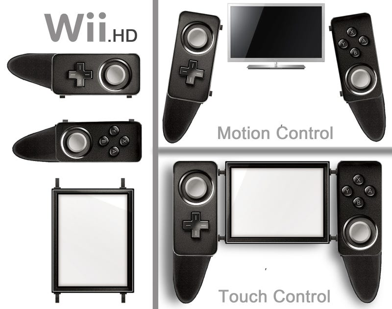 One Transforming Wii 2 Controller That Will Never Happen
