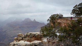 It's Snowing in the Grand Canyon Right Now, and It Looks Beautiful