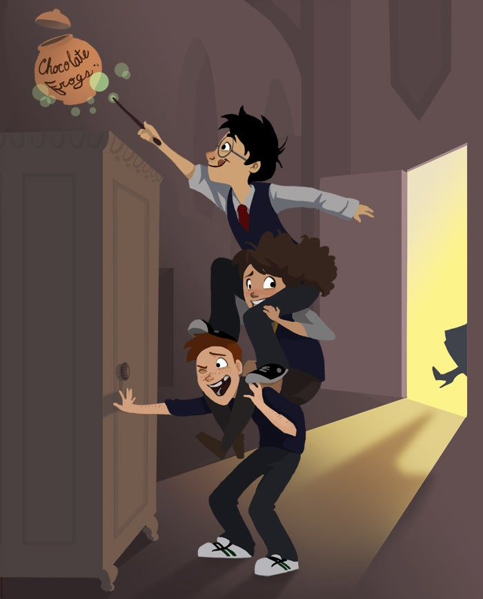 This Harry Potter art makes us long for an animated series