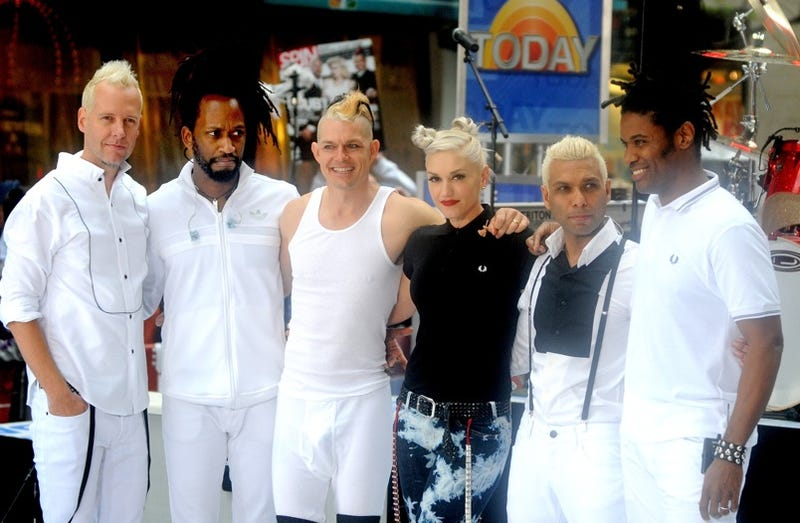 Gwen Stefani Poses with the Ghost of No Doubt