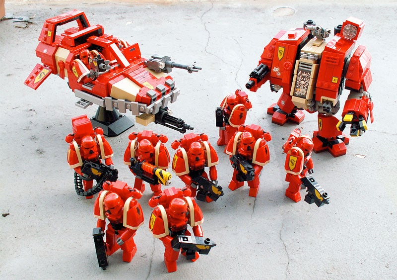 Dawn Of The LEGO Space Marines