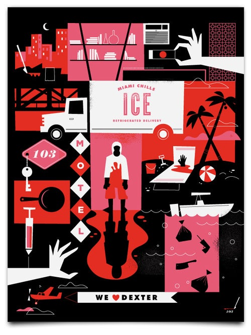 Check Out These Fantastic Dexter-Inspired Posters