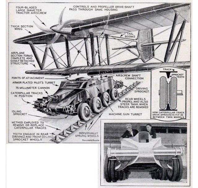 The Incredible Flying Tanks of WWII