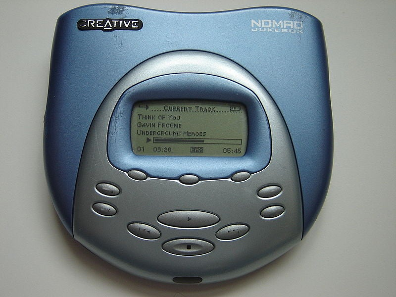 MP3 Players in the Year 2000 Were Not So Good (But We Still Loved Them)