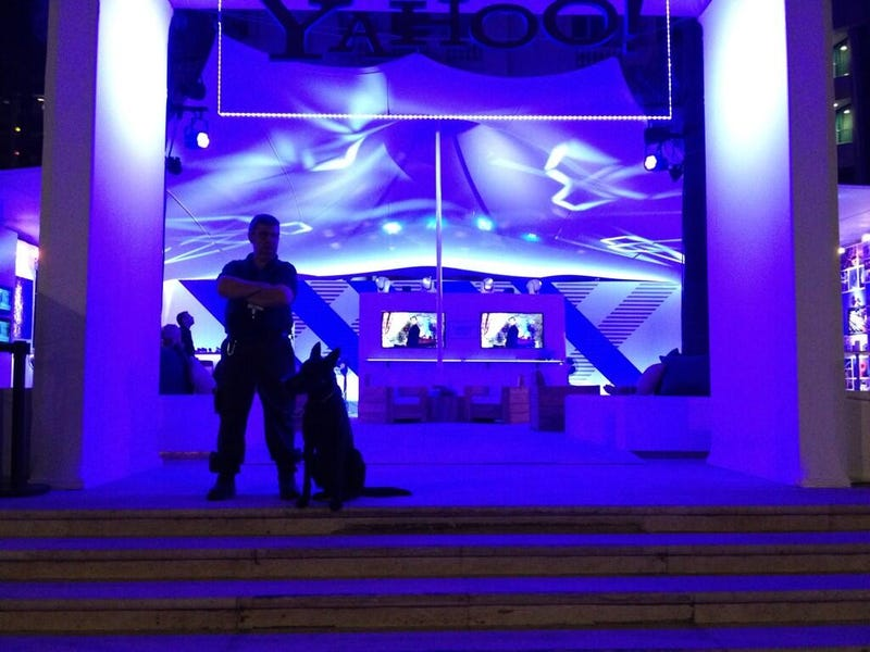 Yahoo's Cannes Party Doesn't Look Very Inviting