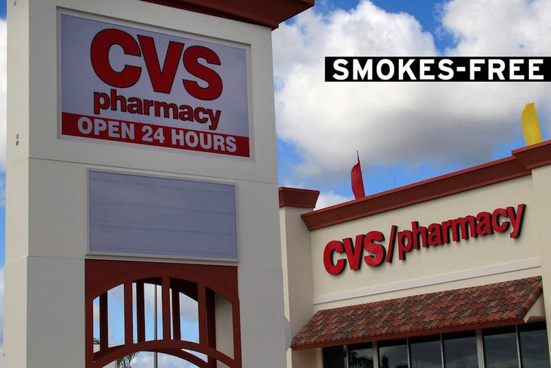 CVS Will Stop Selling Tobacco Products by October