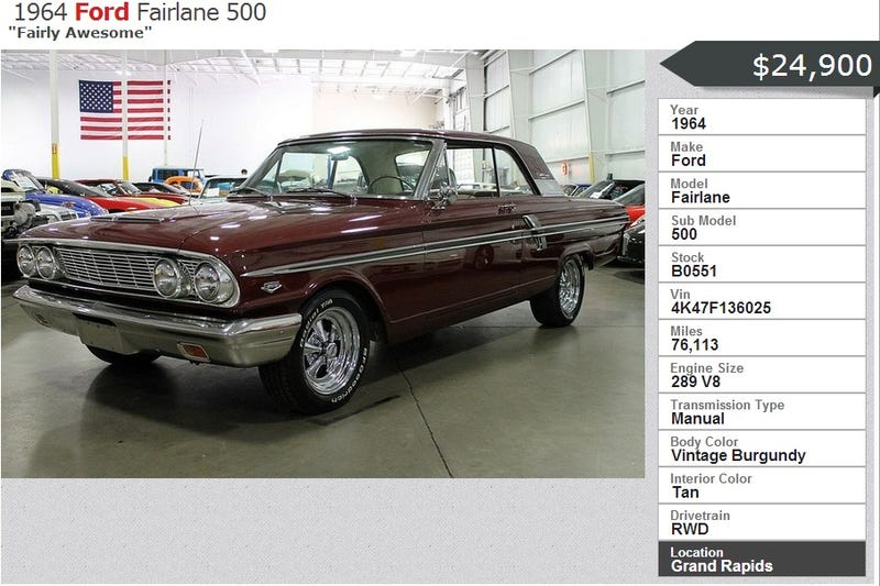 Used Car Dealer has Great Inventory, Awesome Descriptions
