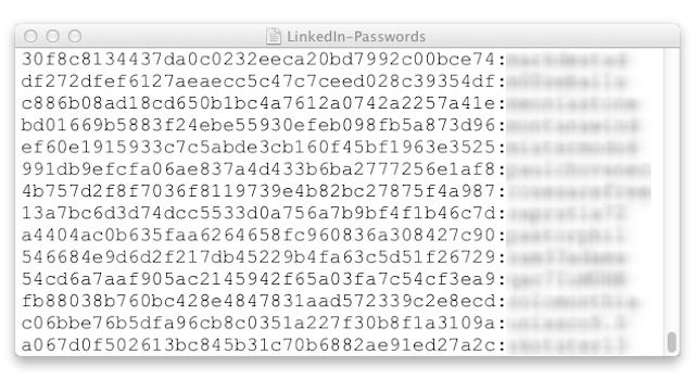 LinkedIn Apparently Hacked: Try to Care Long Enough to Change Your Password