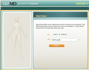 When It Comes To Women's Health, WebMD Is Still Living For, Well, Yesterday