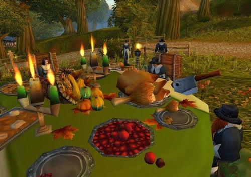 World Of Warcraft Celebrates Thanksgiving