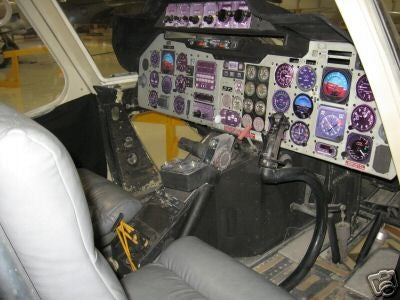 Airwolf Helicopter Replica Doesn't Come With Jan-Michael Vincent