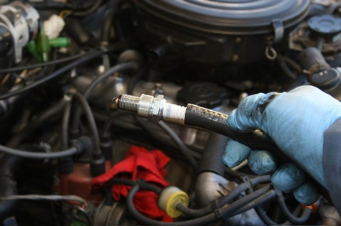Replace Spark Plugs