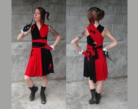 Superhero-inspired dresses for more formal cosplay wear