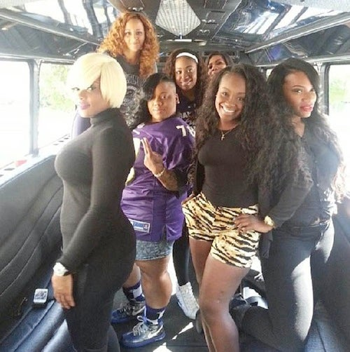 Say Hi To Sweet Pea, The Hostess At The Center Of The Ravens Bus Brawl