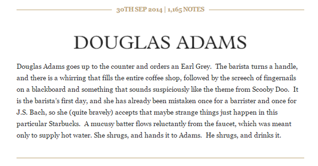 A Tumblr Reveals the Starbucks Orders of Your Favorite Literary Figures