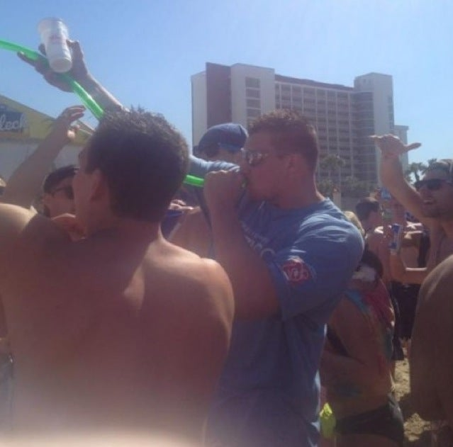 Rob Gronkowski South Padre Island