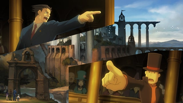 Professor Layton vs. Ace Attorney Is a Refreshing New Take on the Phoenix Wright Formula
