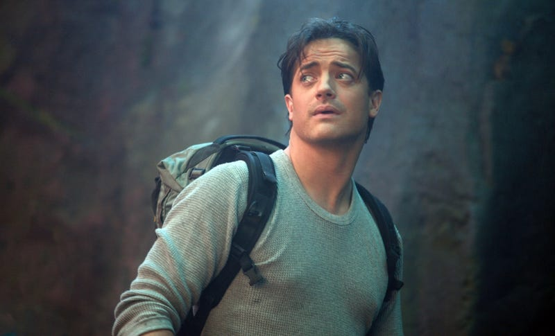 Brendan Fraser Plunges Into Our Bowels
