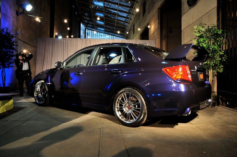 2011 Subaru WRX STI Sedan: Gallery