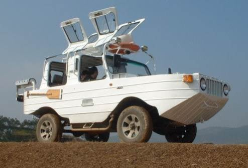 The Amphibious Platypus Jeep
