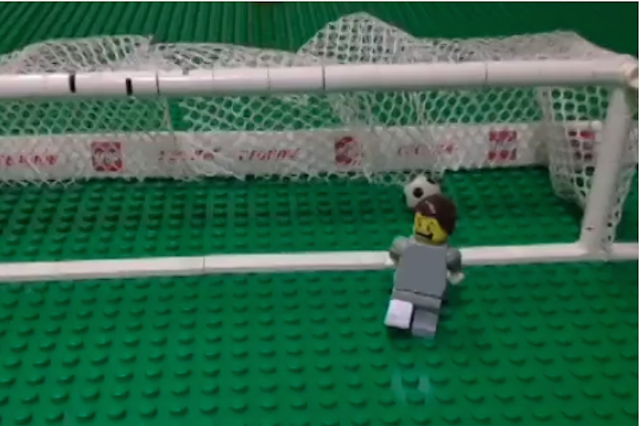 Nothing Is Sadder Than Lego Júlio César Getting Bombarded With Goals