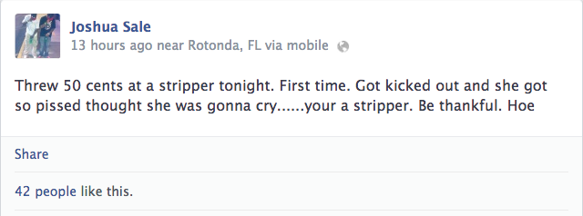 On Facebook, Rays Prospect Brags About Throwing Change At A Stripper