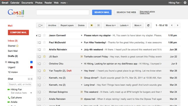 Gmail's Getting a Whole New Look To Match Google+
