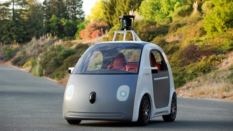 Don't be afraid of the Google car