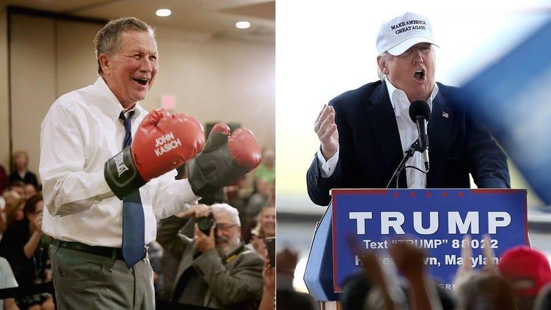 Trump Ridicules Cruz-Kasich Alliance Against Him