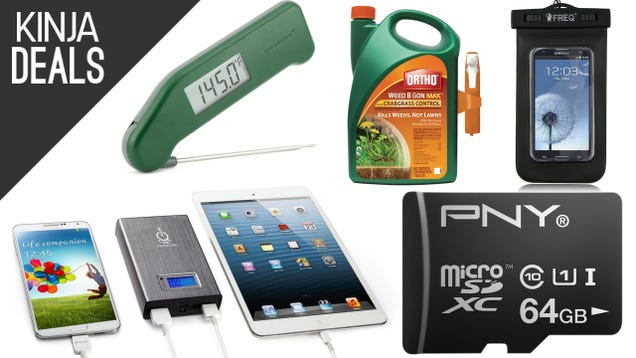 Today's Best Deals: The Best Cooking Thermometer, Weed Killer, & More