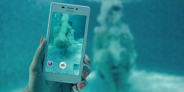 Sony Wants You To Conveniently Forget The Reason You'd Buy Its Handsets