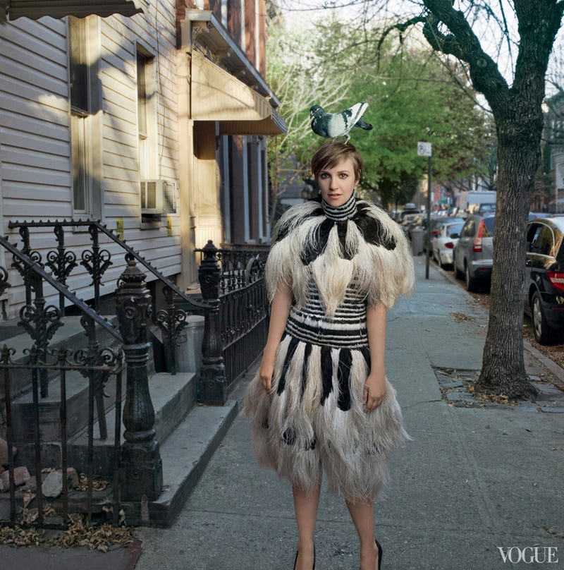 Lena Dunham's Long-Rumored Vogue Cover Is Here