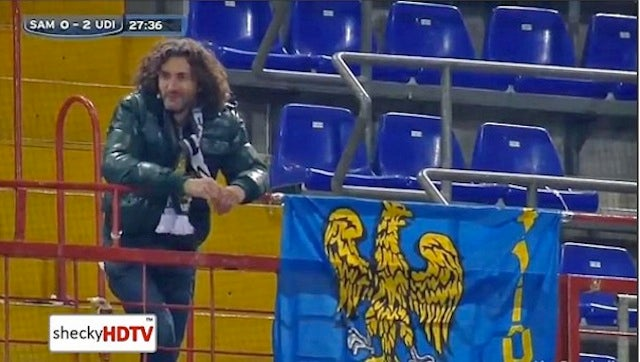 Italian Man Recognized For Being Soccer Club's Only Fan