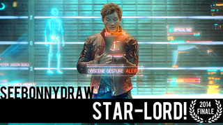 Star-Lord in Speed Painting Form! 2014 Finale!