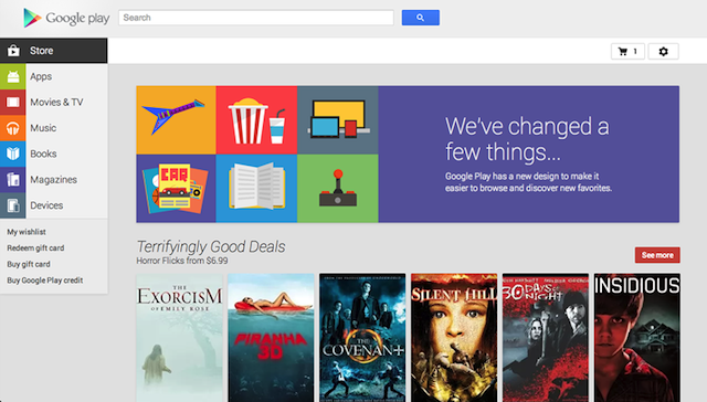 Google Play Looks a Lot Better on the Internet Now