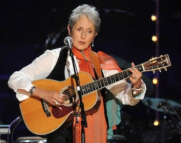 Joan Baez Injured In Fall From Her Treehouse